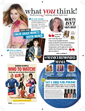 Seventeen - June/July 2012 - What You Think!