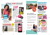 Seventeen - November 2012 - What You Think!