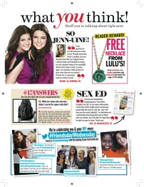 Seventeen - October 2012 - What You Think!