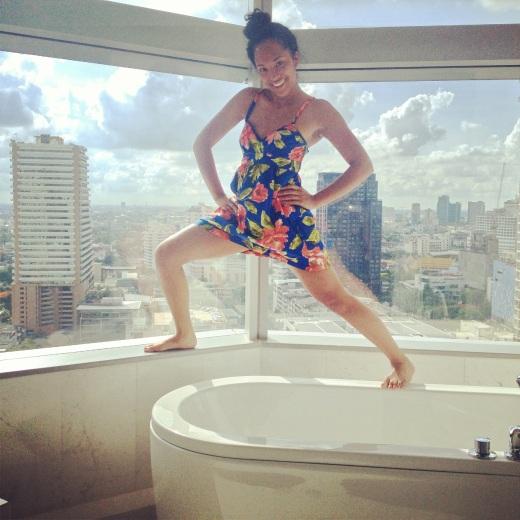 Bangkok Marriot Sukhumvit | Our, Um, Bathroom